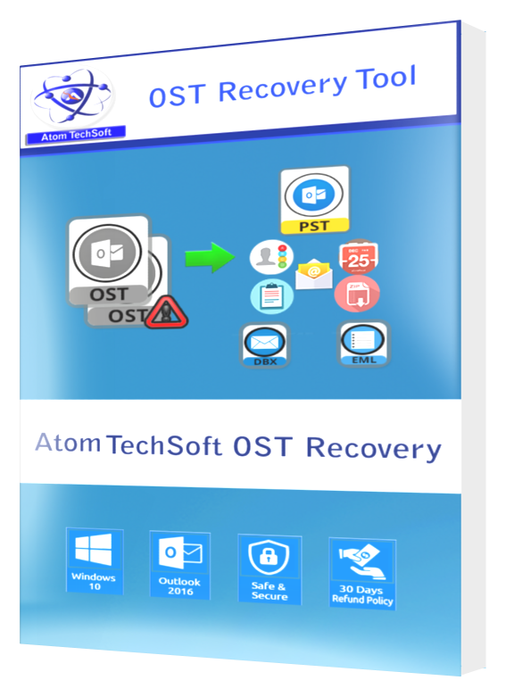 Recover OST to PST