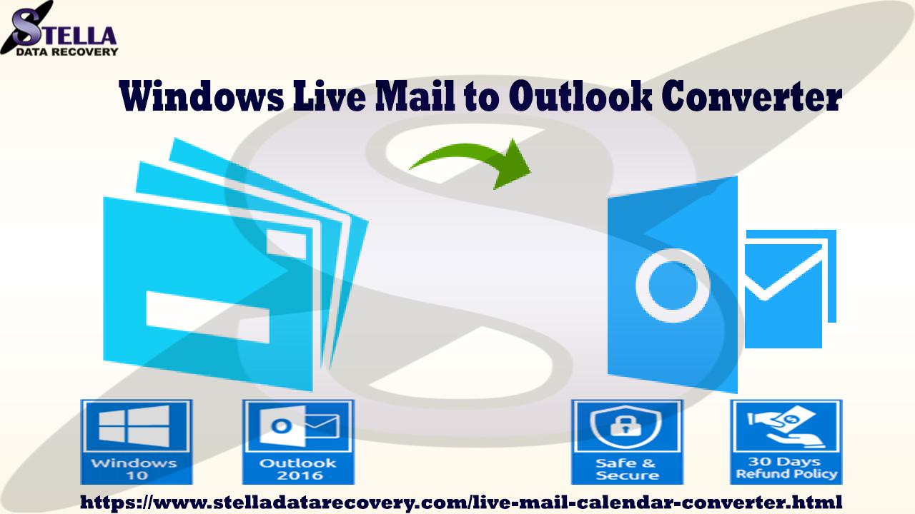 Live Mail Calendar Converter