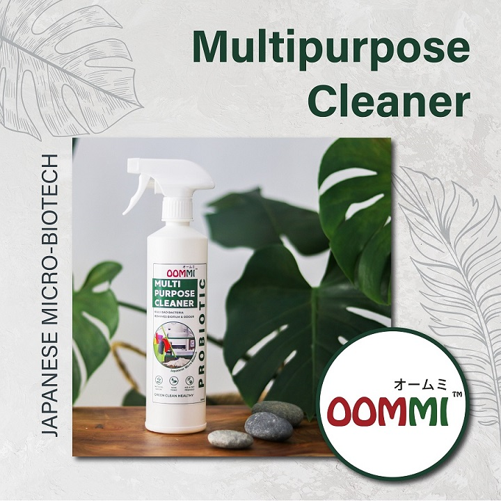 OOMMI PROBIOTICS MULTI-PURPOSE CLEANERS – 500ML