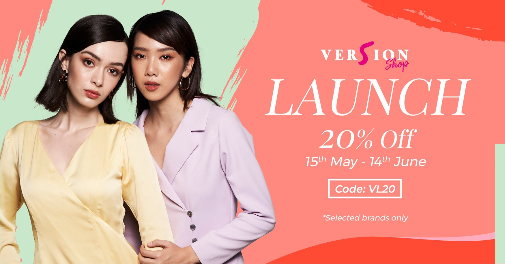 Ver5ionShop New Launch 20% OFF