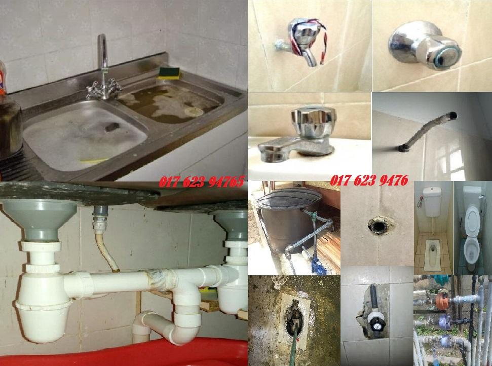 tukang paip plumber 0176239476 azlan afik  jalan SG 3/2 taman sri gombak