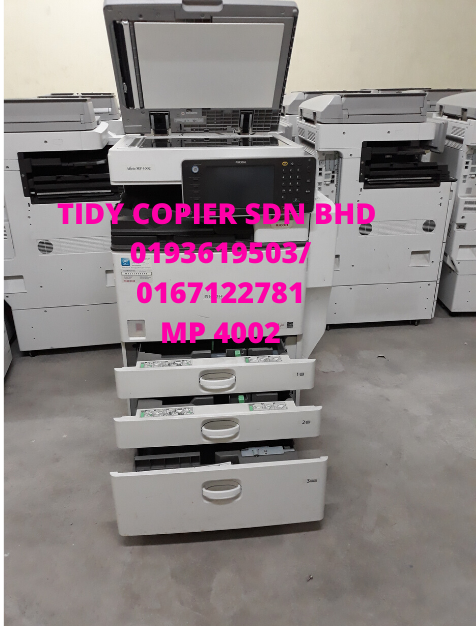 COPIER MACHINE MP 4002