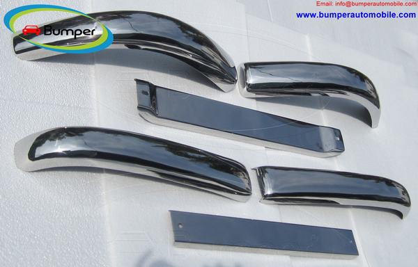 Mercedes W136 170Vb bumper (1952–1953) by stainless steel