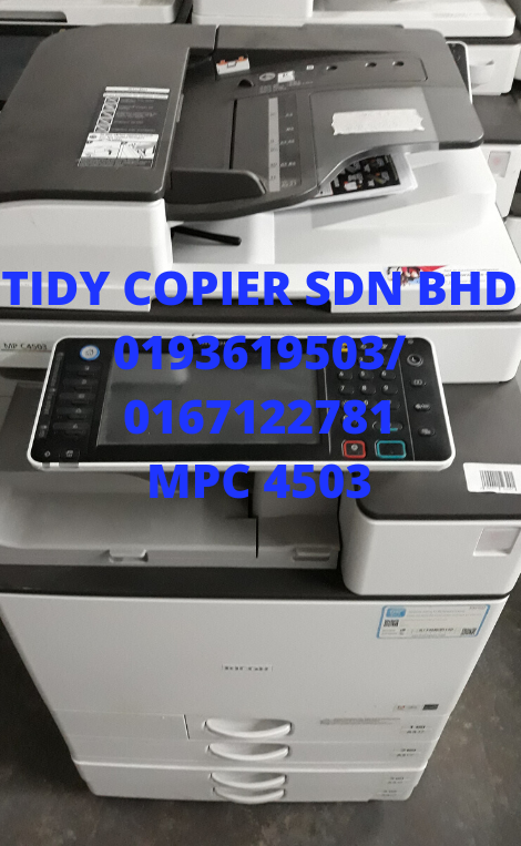 PHOTOCOPIER MACHINE MPC 4503