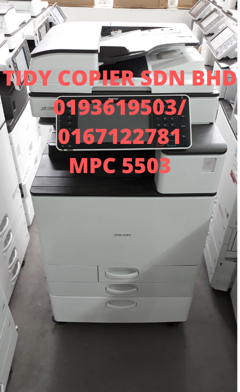 PHOTOCOPIER MACHINE MPC 5503