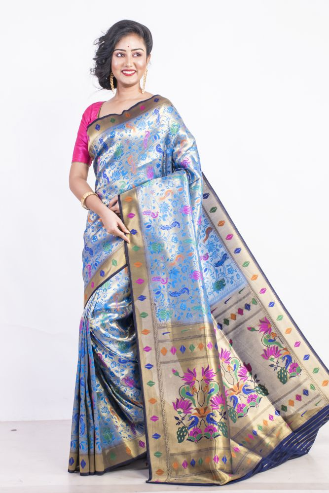 Best offer on South Silk Sarees online from Banarasi Niketan