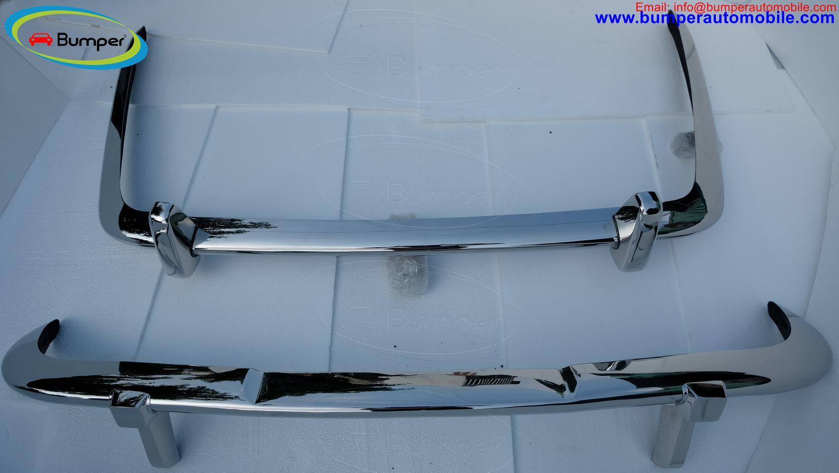 Jaguar XJ6 Series 2 bumper (1973-1979) by stainless steel