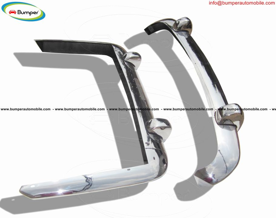 Lancia Flaminia Pininfarina coupe bumper (1958-1967) by stainless steel