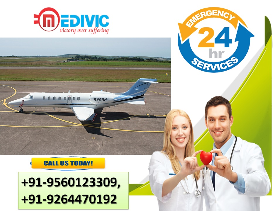 Avail Incredible Air Ambulance Service in Patna with Hi-tech ICU Setup