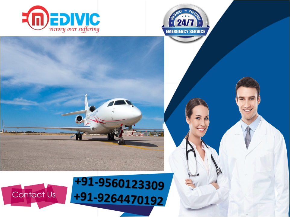 Book First-Rated Air Ambulance Service in Ranchi with Expert Physician