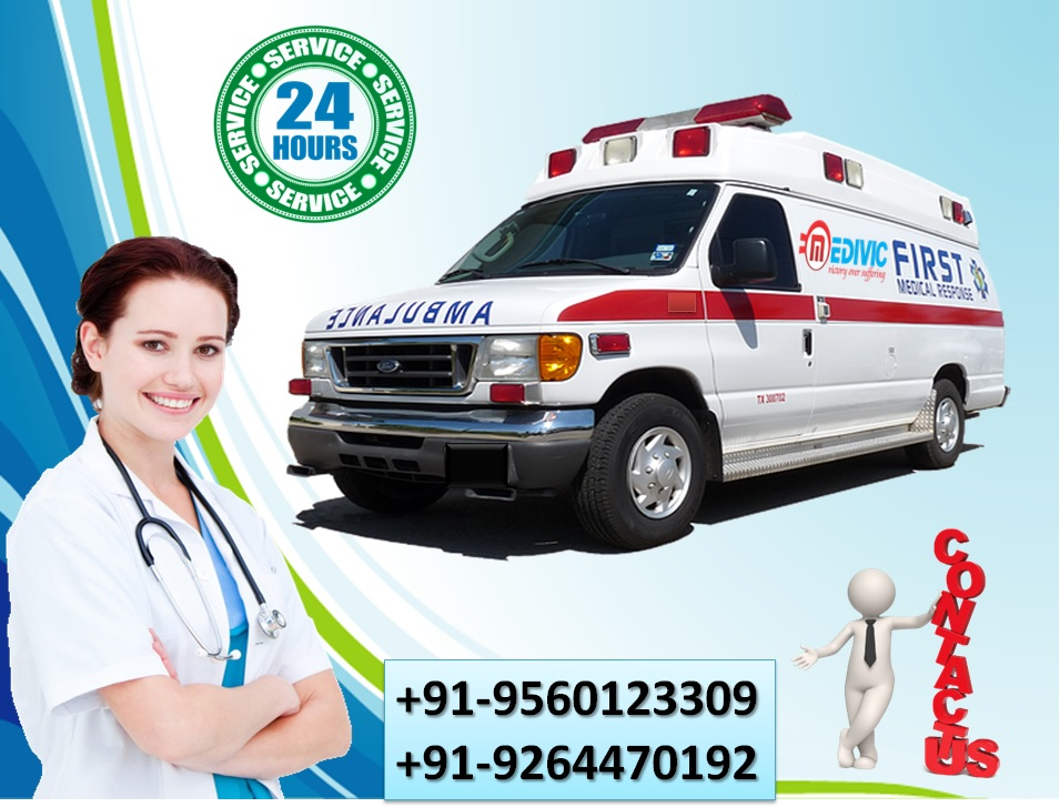 Gain the Safest Relocation by Medivic Ambulance Service in Gaya