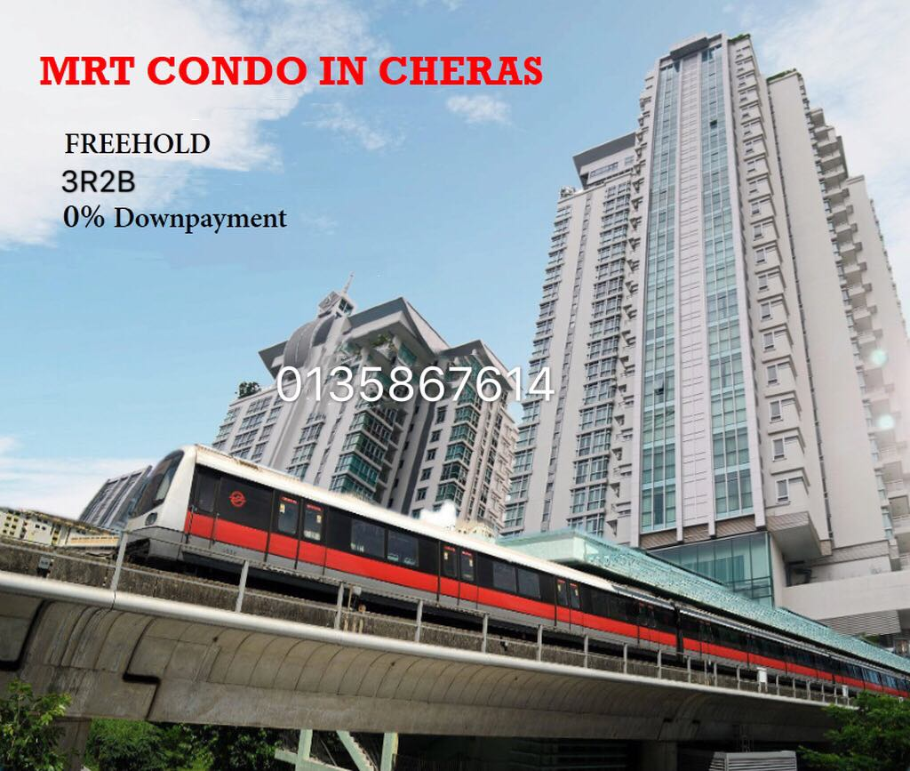 Doorstep MRT Cheras seri raya