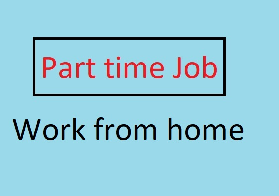 Part time job for freshers work from home