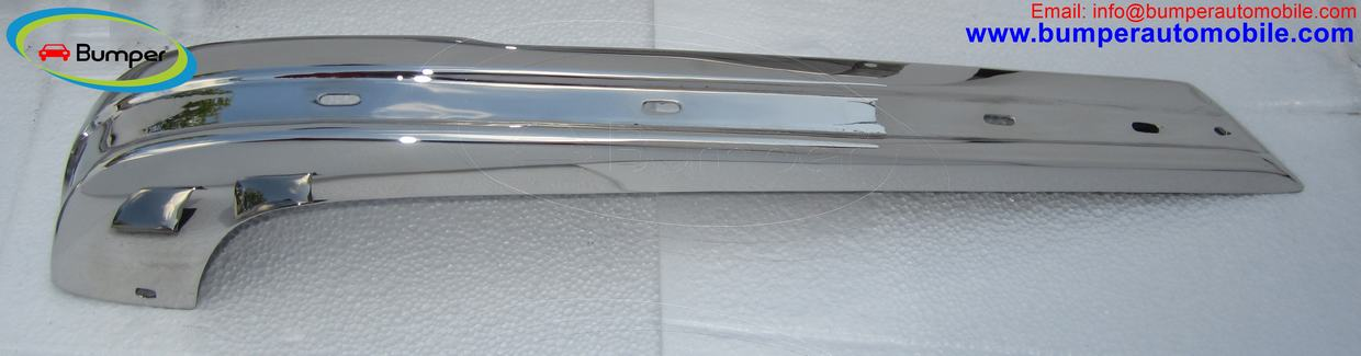 Euro chrome bumper set for E21 (1975 – 1983)