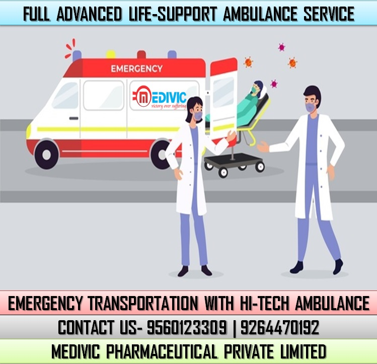 Take an Emergency ICU Care by Medivic Ambulance Service in Bokaro