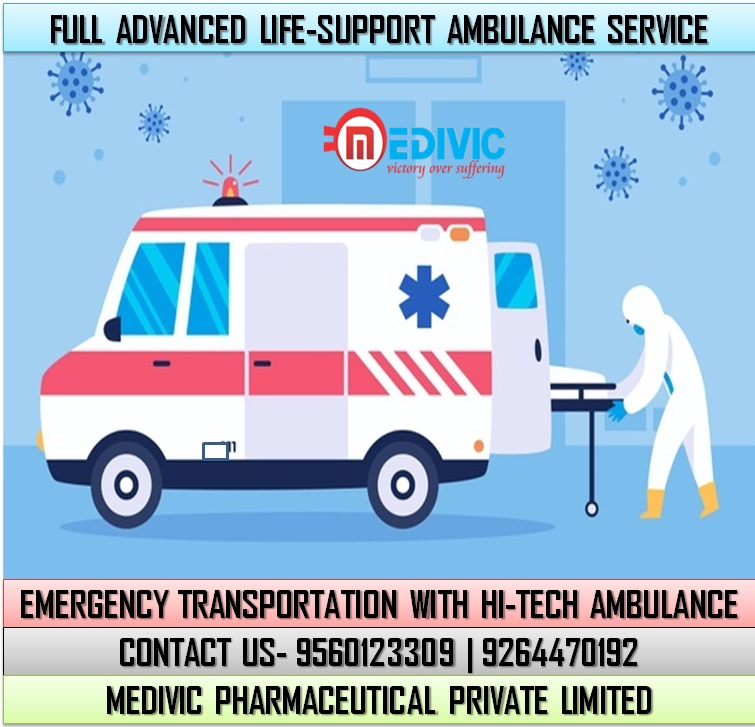 Choose Hi-tech Ambulance Service in Jamshedpur at an Inexpensive Price