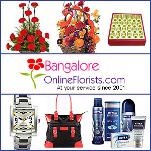 Send Online Gifts to Bangalore on the Same Day to your close ones location with Free Shipping.
