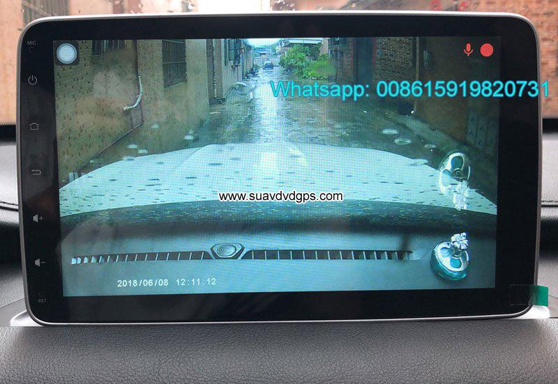 Zotye T500 Car audio radio android GPS navigation camera