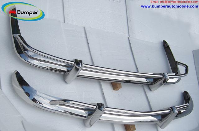 Stainless Steel Bumper Set for the VW Karmann Ghia US type bumper (1955 – 1966)