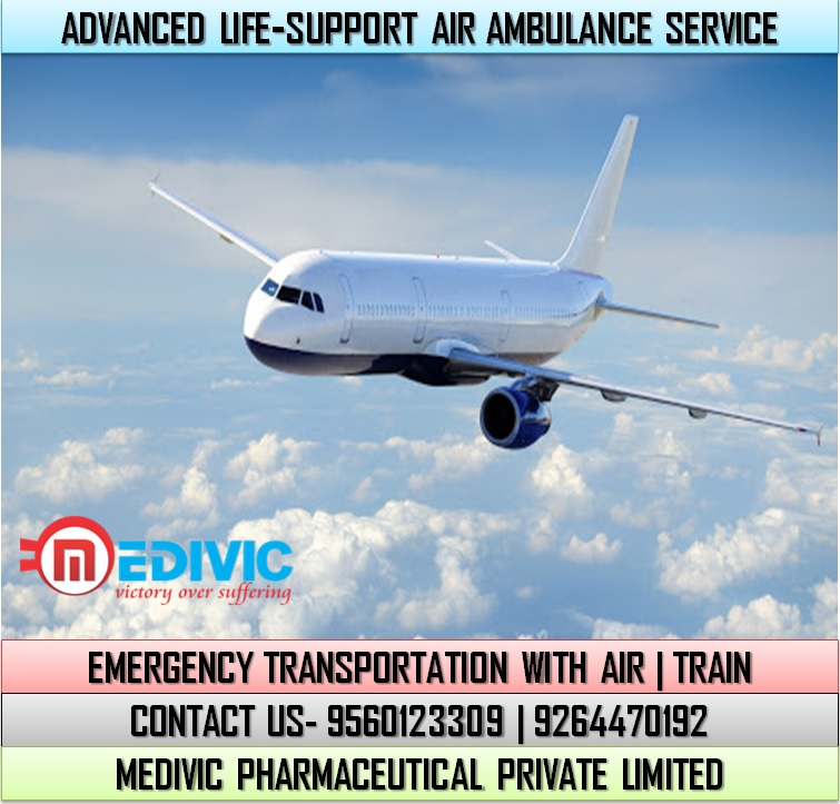 Book Evolve Life-Saver Air Ambulance Service in Dimapur at Low-Cost