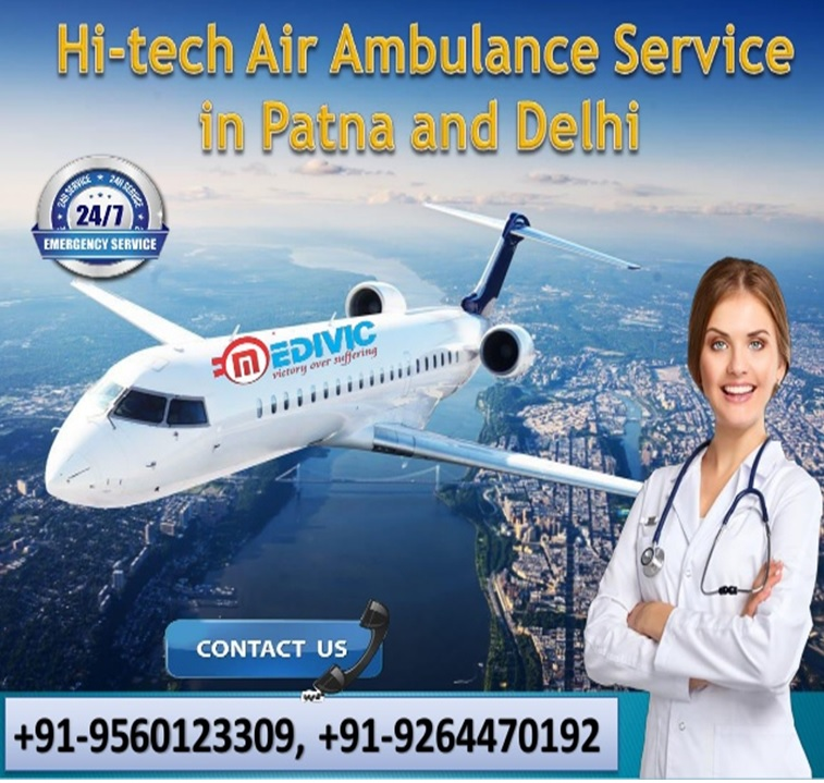 Hire Medivic Air Ambulance in Ranchi at a Very Genuine Price