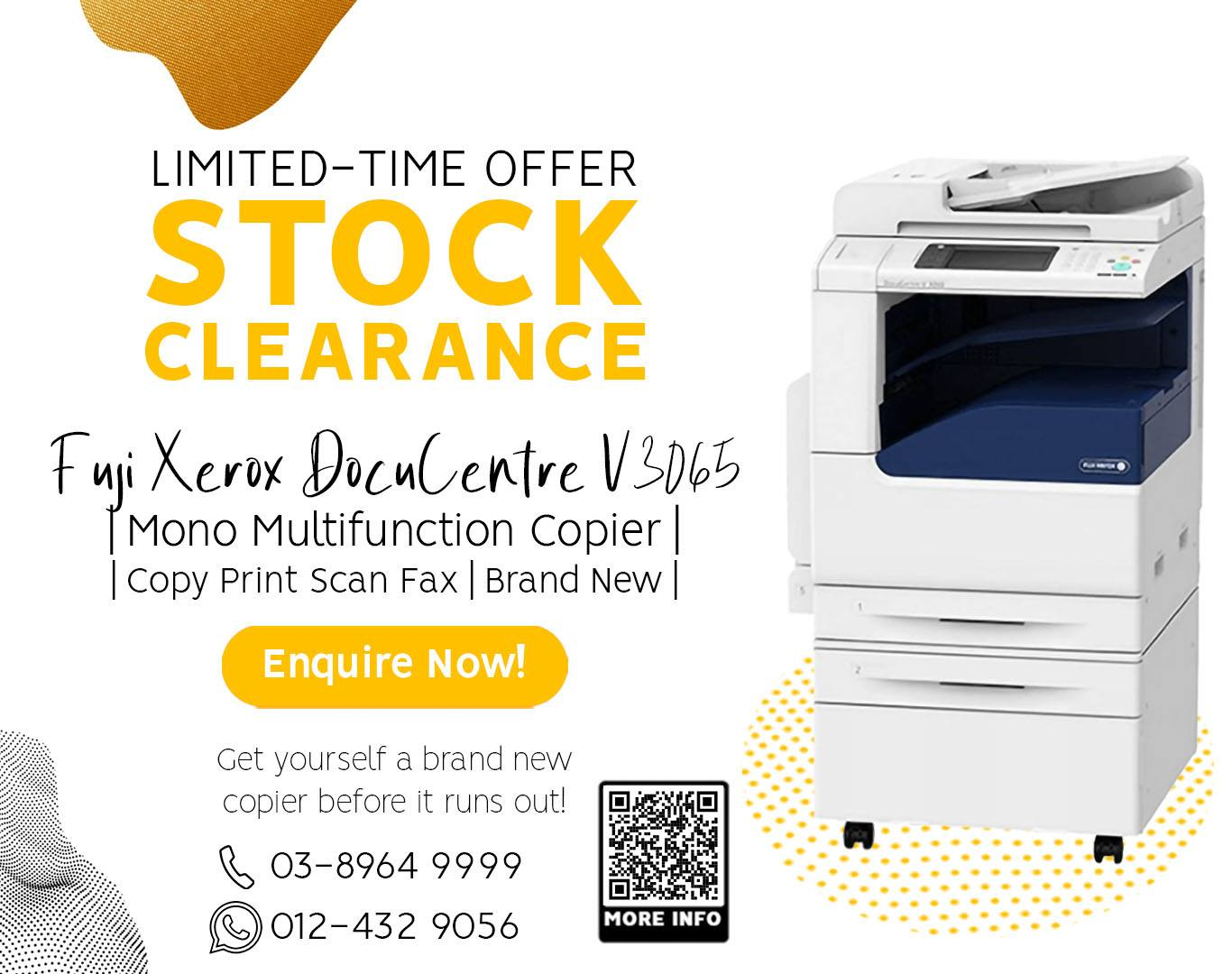 𝐒𝐓𝐎𝐂𝐊 𝐂𝐋𝐄𝐀𝐑𝐀𝐍𝐂𝐄 FUJI XEROX  multifunction copier for rent