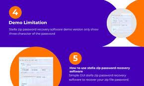 Recovery solution of zip password
