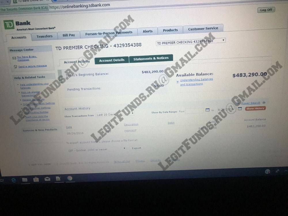 BANK TRANSFER, CC TOPUP AND WESTERN UNION TRANSFER
