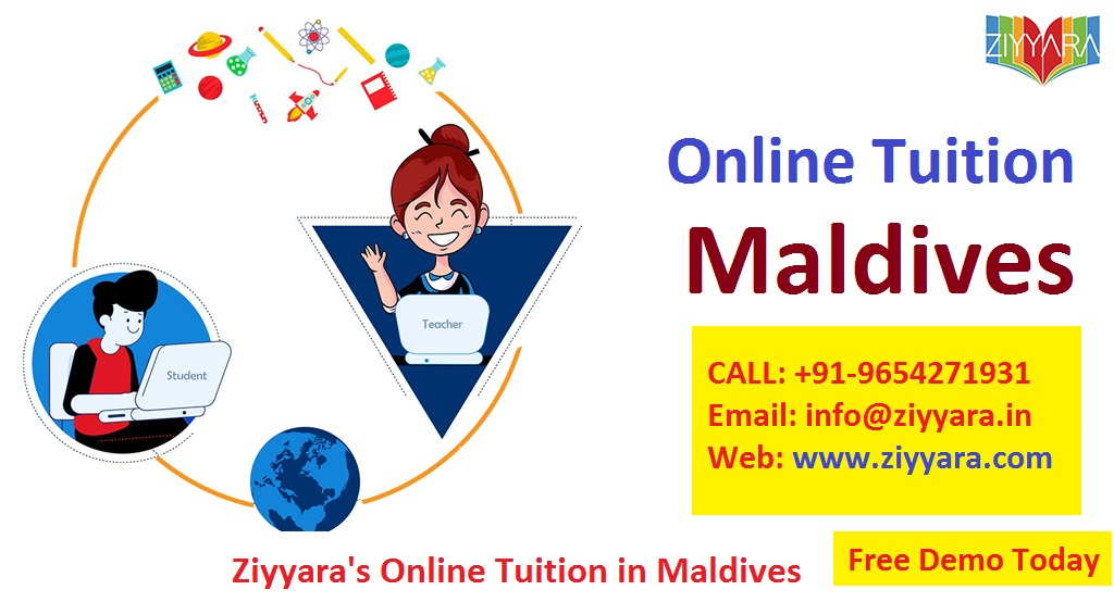 Online Tuition & Online Language Class in Maldives