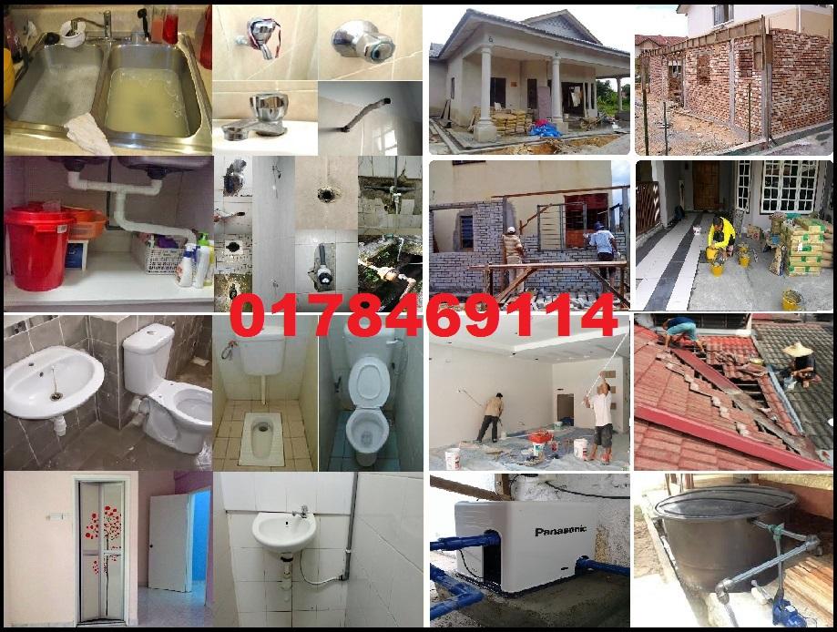tukang cat rumah dan renovation plumber 0178469114 taman melati