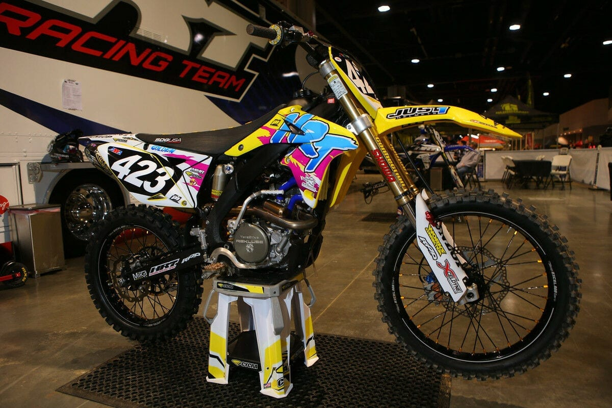 Contact Factory Motocross Graphics for Custom Graphics Kits